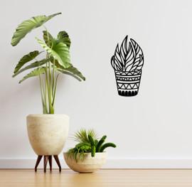 Lasercut Acrylic Wall Art - Plant 2