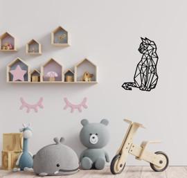 Lasercut Acrylic Wall Art - Kitty