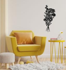 Lasercut Acrylic Wall Art Bouquet - Emily