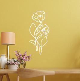 Lasercut Acrylic Wall Art Bouquet - Lana