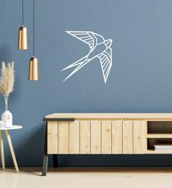 Lasercut Acrylic Wall Art - Swallow