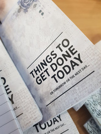 Mini Notebook - Things to get done today