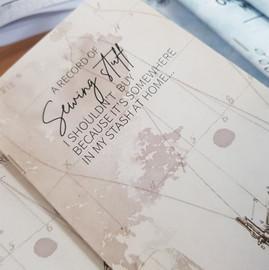 Mini Notebook - Sewing Stuff