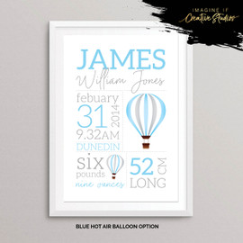 Transport Nursery Prints for Baby Gift