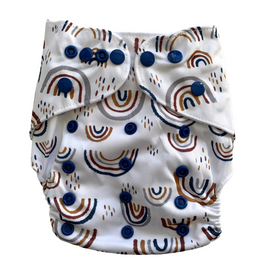 Cloth Nappy - Somewhere over the rainbow, One Size Fits Most
