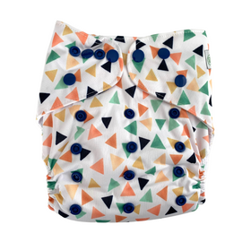 Cloth Nappy - Triangles, One Size Fits Most