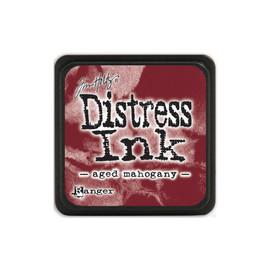 Tim Holtz Mini Distress Ink Pad - Aged Mahogany