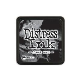 Tim Holtz Mini Distress Ink Pad - Black Soot