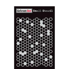 Darkroom Door Small Stencil - Honeycomb
