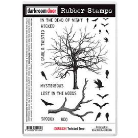 Darkroom Door Rubber Stamp Set - Twisted Tree