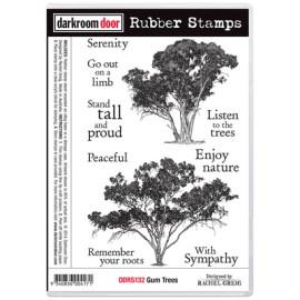 Darkroom Door Rubber Stamp Set - Gum Trees