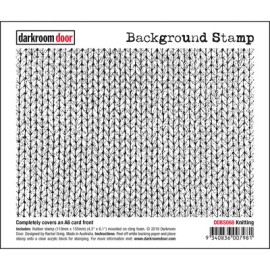Darkroom Door Background Stamp - Knitting