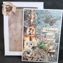 Vintage and Loved Mini Album and Box