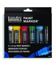 Liquitex Paint Marker Sets 4mm Chisel