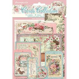 Stamperia Classic Pink Christmas Card Collection