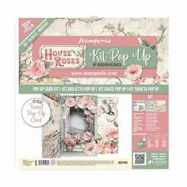 Pop Up Kit Card House of Roses