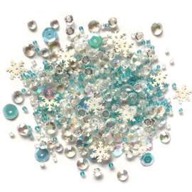 Sparkletz Embellishments 10g - Snow Crystals