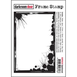 Darkroom Door Frame Stamp - Splattered