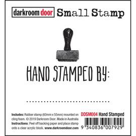 Darkroom Door Small Stamp - Hand Stamped