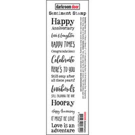 Darkroom Door Sentiment Stamp - Anniversary