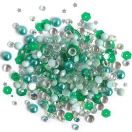 Sparkletz Embellishments 10g - Aquamarine