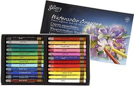 Mungyo Watercolor Crayons Set of 24