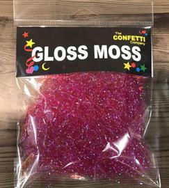 Gloss Moss Fibers 7g- Hot Pink