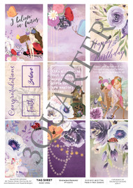 3Quarter Designs Tag Sheet Enchanted Moments  3Quarter Designs presents TAGS Add On's! A4 (210 x 297mm) 300gsm card stock Acid and lignin free Designed and Printed in New Zealand These printed designs are suitable for all types of paper crafts  in a range of shapes and sizes that include images and quotes and can be used on a number of projects! Add them onto your cards, scrapbook layouts, mini albums and off the page or use them on your art journal pages. They are a great Add On product with many uses -on your cards they can be a feature or a matt for your focus piece. Add them onto your layouts as a quote, a photo matt or tucked as an added layer, you can also fussy cut them and be used as paper embellishments!