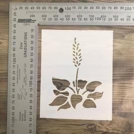Imagine If Stencil - Lavender Flower