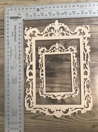 Vintage Frames set of 2 -Chipboard