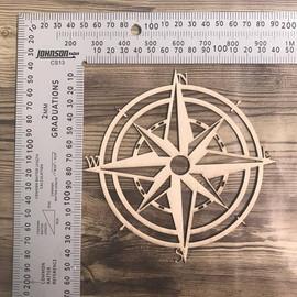 Nautical Compass-Chipboard