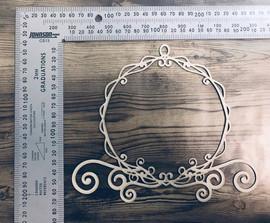 Cinderellas Frame -Chipboard