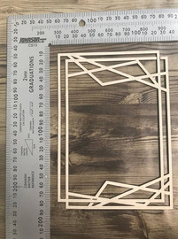Large Square Frame Design -Chipboard