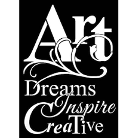 Stamperia Stencil - Art