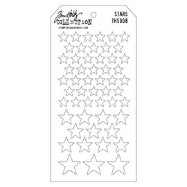 Tim Holtz Layered Stencil - Stars