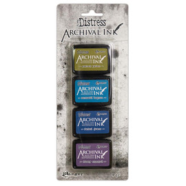 Tim Holtz Distress Archival Mini Ink Kit - Set 2