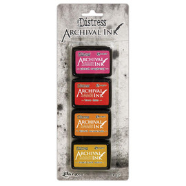Tim Holtz Distress Archival Mini Ink Kit - Set 1