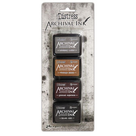 Tim Holtz Distress Archival Mini Ink Kit - Set 3