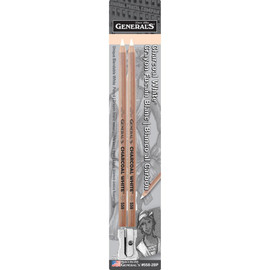General's Charcoal Pencils - White