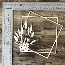 Toi Toi square Frame -Chipboard