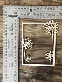 Dandelion Frame-Chipboard