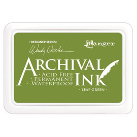Wendy Vecchi Archival Ink Pad - Leaf Green
