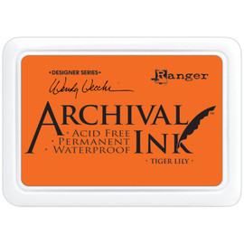 Wendy Vecchi Archival Ink Pad - Tiger Lily