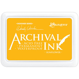 Wendy Vecchi Archival Ink Pad - Sunflower