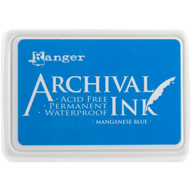Archival Ink Pad - Manganese Blue