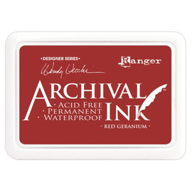 Wendy Vecchi Archival Ink Pad - Red Geranium