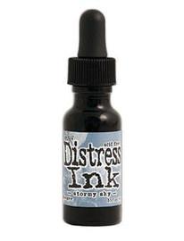 Tim Holtz Distress Ink Pad Reinker - Stormy Sky