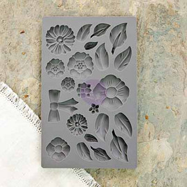 Prima Decor Mould - Rustic Fleur
