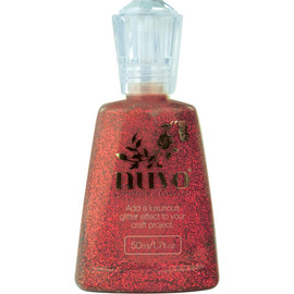 Nuvo Glitter Accents - Winter Cranberry
