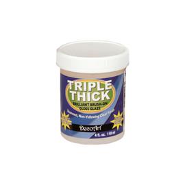 Triple Thick Brilliant Brush-On Gloss Glaze 4oz